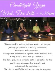 Candlelight Yoga Dec 26-18