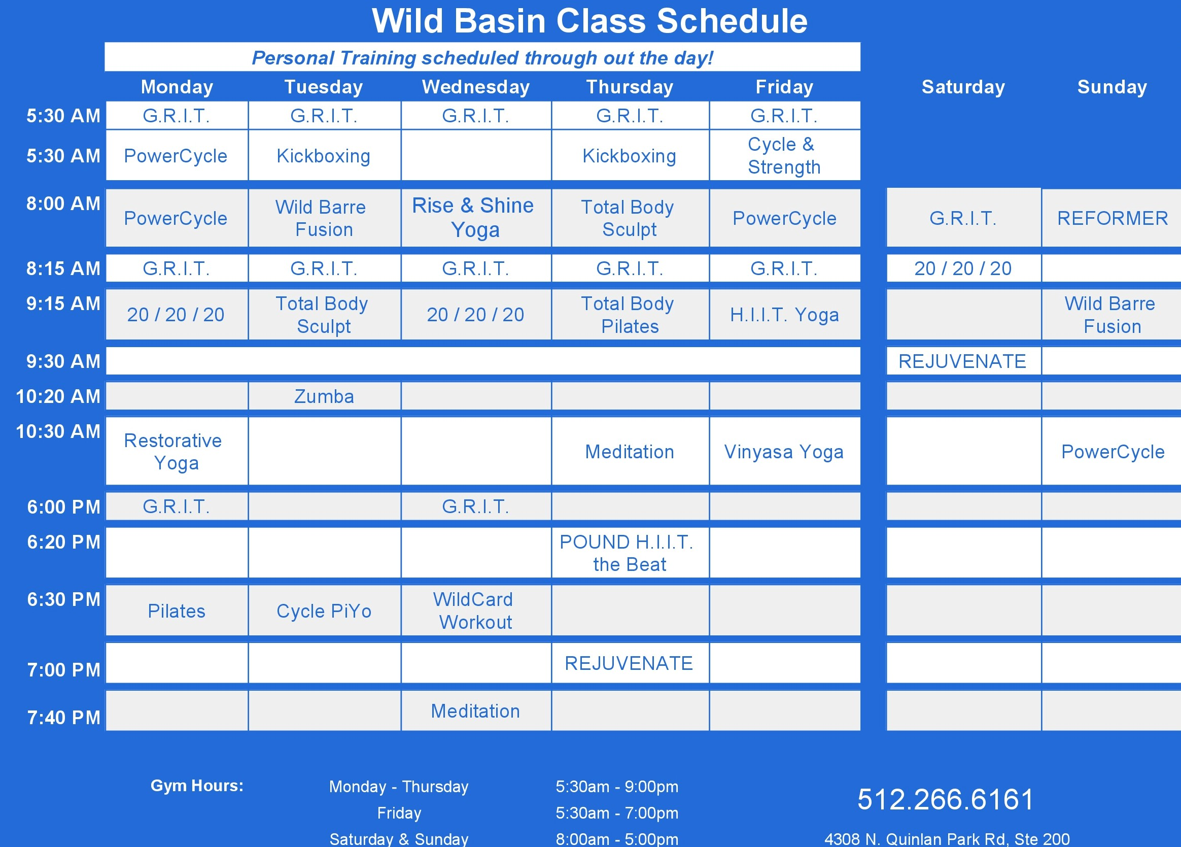 WBF class schedule blue for website cropped