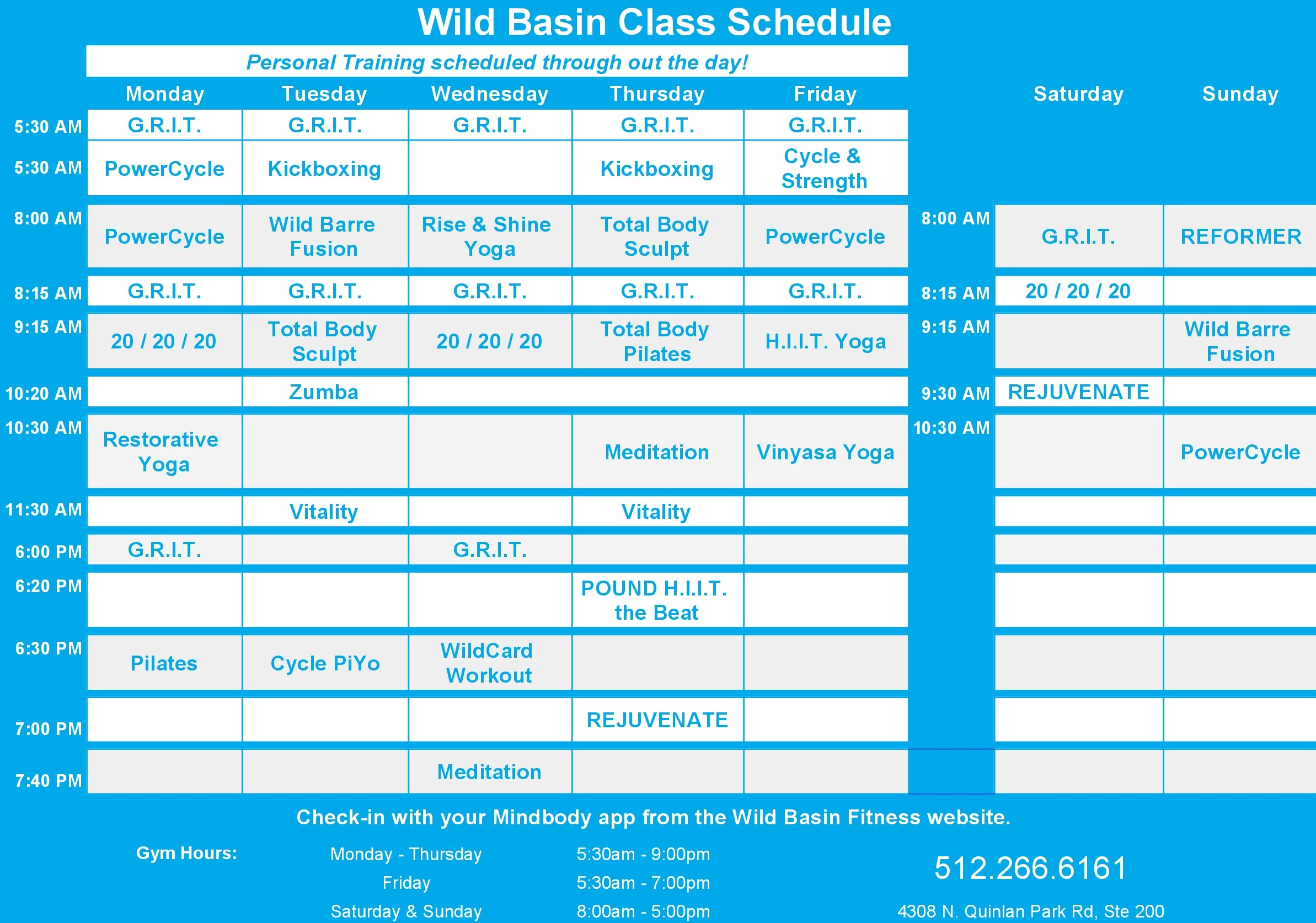 WBF website schedule April2019