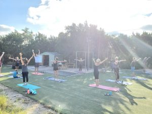 Outdoor YOGA morning