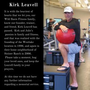 Kirk Leavell announcement